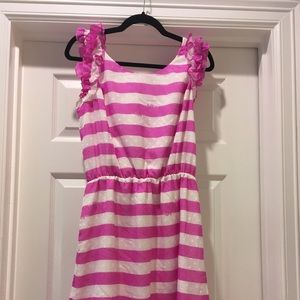 Lilly Pulitzer Purple Striped Dress